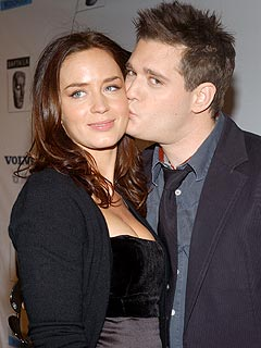 Michael Bublé Still Carries Torch for Emily Blunt