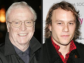Michael Caine Predicts Heath Ledger Oscar Nod