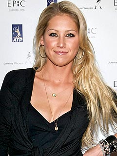 Anna Kournikova Injured in Shoving Match | Anna Kournikova