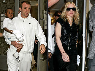 Madonna & Guy Pray Together in N.Y.C.