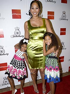 Kimora Lee Simmons Says &#39;No Midriff Tops&#39; for Her Daughters