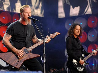 Metallica 'Psyched' for Rock and Roll Hall of Fame Induction