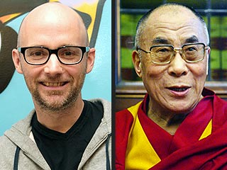 Moby Blogs About Dalai Lama Meeting
