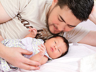 Thomas Beatie & Little Susan Jullette