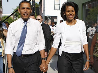 Michelle Obama on Date Nights with Her Husband