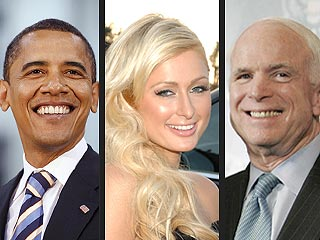 Obama: McCain&#39;s Paris Hilton Ad So Not Hot