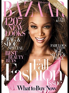 Tyra Channels Michelle Obama In Bazaar Photo Spread| Tyra Banks