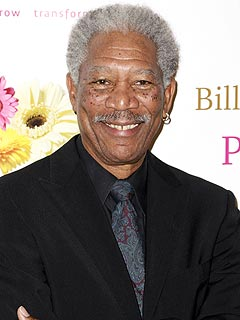 Morgan Freeman Thanks Nelson Mandela | Morgan Freeman