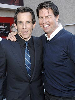 Ben Stiller: Tom Cruise 'Has Moves' in Tropic Thunder | Ben Stiller, Tom Cruise