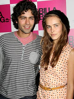 Ashley Greene and actor Adrien Grenier