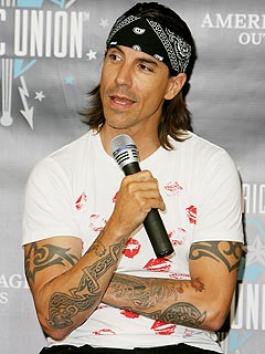 Anthony Kiedis's Red-Hot Roommate? His Son | Anthony Kiedis