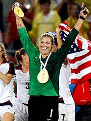 Hope Solo Realizes Goal: Olympic Gold for Team