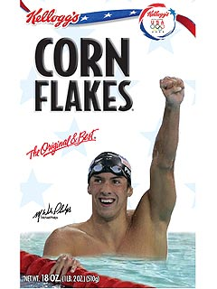 PHOTO: Michael Phelps Is Coming to Breakfast