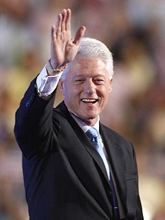 Bill Clinton Feels the Love in Denver