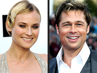 Diane Kruger Is 'Excited to Work with Brad Pitt'