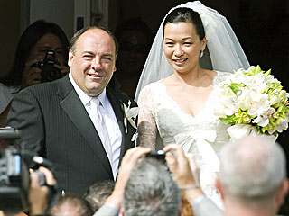 Sopranos Star James Gandolfini Gets Married | James Gandolfini