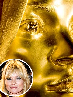 Kate Moss Immortalized in $18 Million Gold Statue