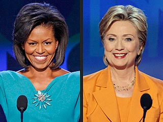 Hillary Clinton and Michelle Obama Trade Compliments
