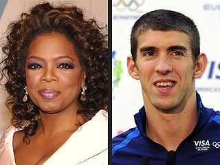 Michael Phelps, Medalists to Join Oprah Winfrey