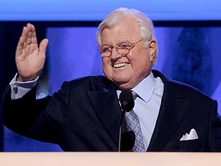 Sen. Ted Kennedy Electrifies Convention