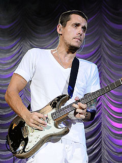 John Mayer Parties in Miami with a Blonde Waitress