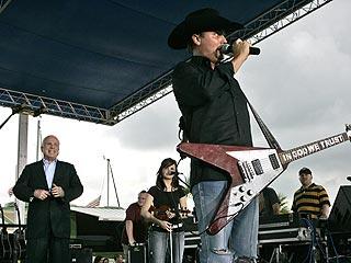 John Rich Sings Political Anthem for John McCain