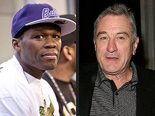 50 Cent 'Impressed' with De Niro's Gun Skills