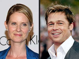 Cynthia Nixon Praises Brad Pitt for Supporting Gay Marriage