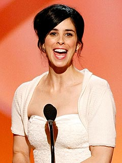 Sarah Silverman Thanks Jimmy Kimmel at Arts Emmys | Sarah Silverman