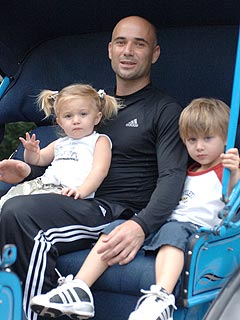 Andre Agassi Loves to Spend Time with Family