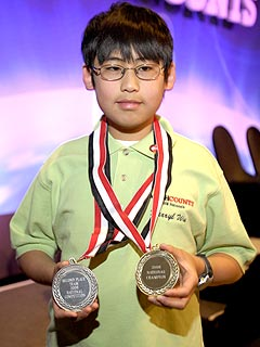 11-Year-Old Math Wizard Snags TV Award