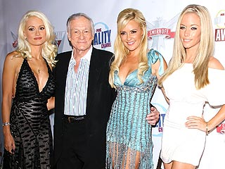 Hugh Hefner 'Really Happy' Kendra Wilkinson Is Pregnant