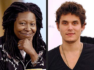 Whoopi Goldberg Crushes on John Mayer!