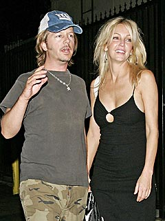 David Spade Checks In on Heather Locklear | David Spade, Heather Locklear