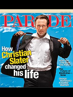 Christian Slater: I Was a High School Dropout