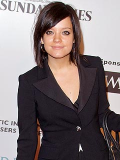Lily Allen Sobers Up