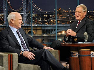 John McCain to David Letterman: 'I Screwed Up'