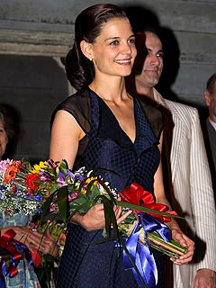 Katie Holmes &#39;Very, Very Excited&#39; After Broadway Debut
