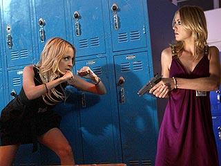 SNEAK PEEK: Nicole Richie Muscles Up on Chuck