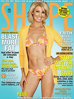 Faith Hill's Birthday Gift to Herself: Bikini Shot