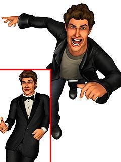 FIRST LOOK: David Hasselhoff in New Video Game  David Hasselhoff