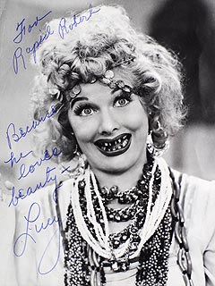 Lucille Ball Photo a Highlight of Bob Hope Auction