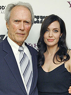 Angelina Jolie's (Surprise!) Tribute to Clint Eastwood | Angelina Jolie, Clint Eastwood