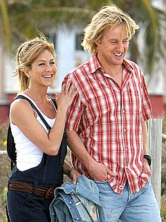 Jennifer Aniston Calls Owen Wilson 'Brave'