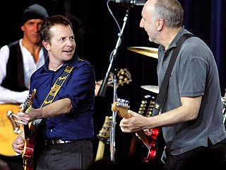 Michael J. Fox Rocks Out with The Who