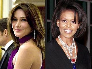Carla Bruni Wants Michelle Obama's Advice