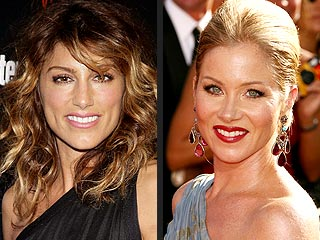 Jennifer Esposito Finds Christina Applegate a 'Huge Inspiration' | Christina Applegate, Jennifer Esposito