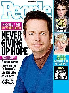 COVER SNEAK PEEK: Michael J. Fox Never Giving Up Hope