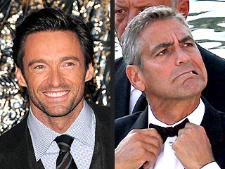 Hugh Jackman: George Clooney Hazed Me Over Sexiest Man