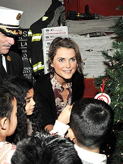 Keri Russell Prepares for Baby&#39;s First Real Christmas
